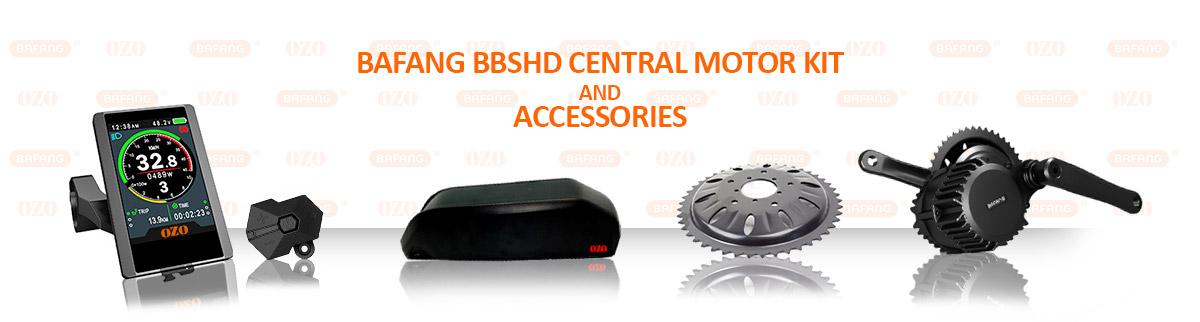 Bafang BBSHD mid-drive motor 48V 1000W - 1500W