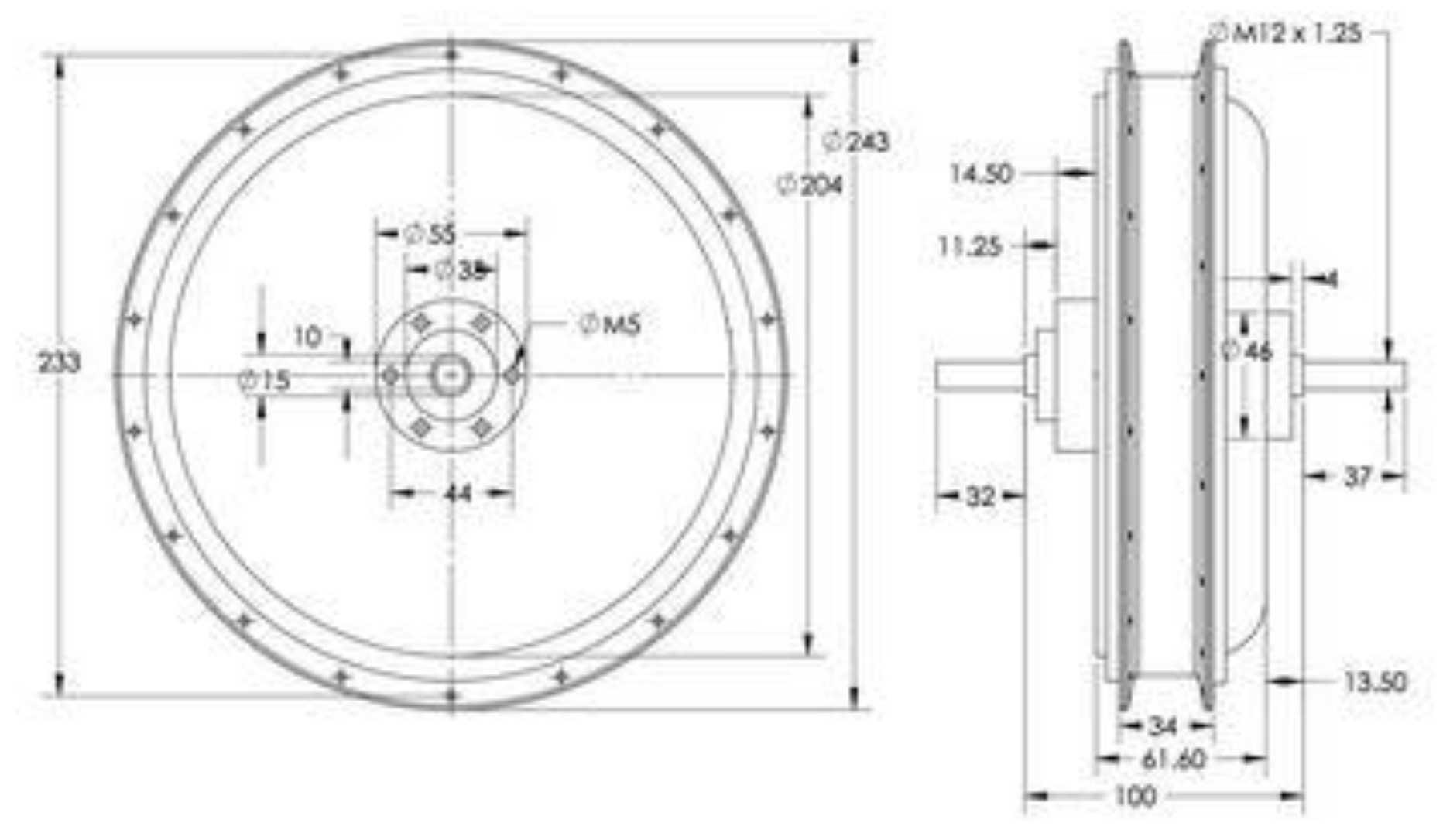 plan 2D FH205