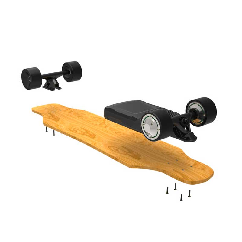 kit lectrique skateboard 2000w. Black Bedroom Furniture Sets. Home Design Ideas