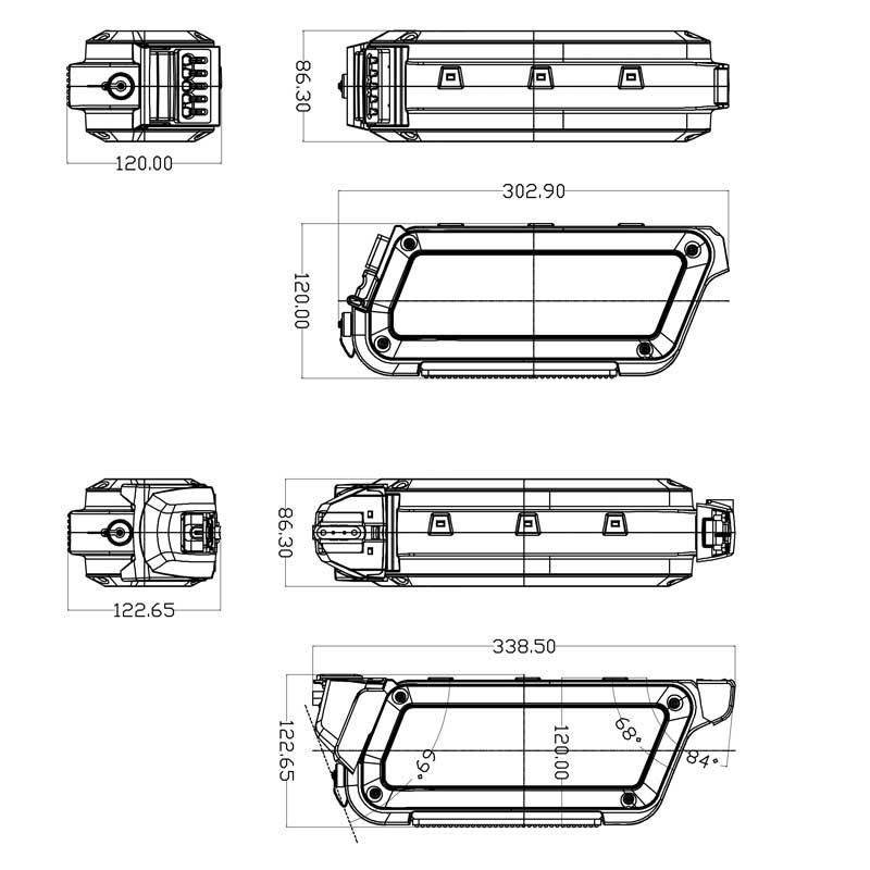 plan 2D Box Panasonic