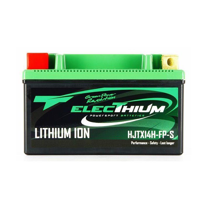 Batterie Electhium 12V Lithium YTX14-BS / HJTX14H-FP-S