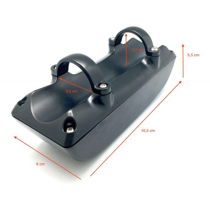 Boite ABS pour fixer les controleurs 17A sur le cadre