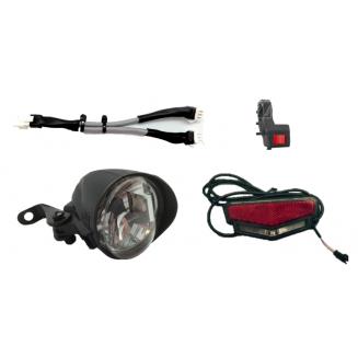 Pack lampe avant 40 + lampe arrière 10
