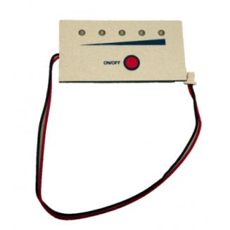 Câblage pour brancher une Jauge LED sur une batterie PVC