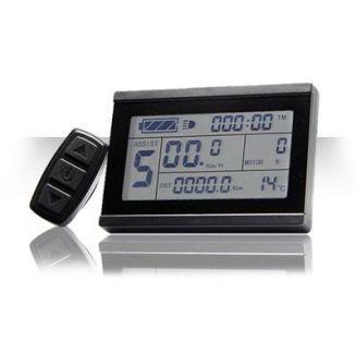Display LCD 3 USB pour kits moteurs roues OZO 15A et 22A