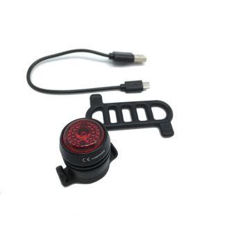Lampe arrière 10 Lumens avec batterie Li-pol 3.7V 100mAh