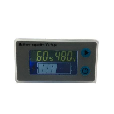 Multi-function LED lead and lithium battery gauge