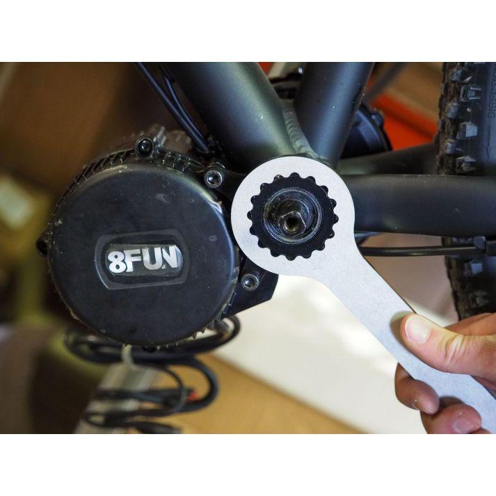 Clé de serrage pour moteur pédalier Bafang