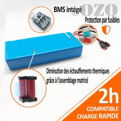 36V 21Ah 756Wh PVC Lithium Battery