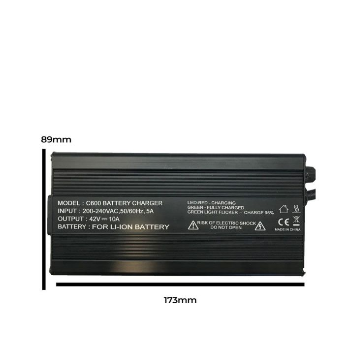 Fast battery charger LIMN, LiPO 48V 10A