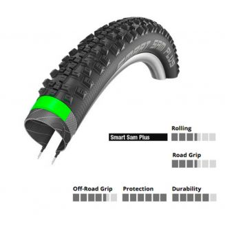 Pneu Schwalbe SMART SAM PLUS