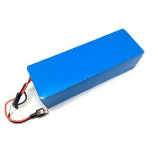 Batterie 48V 12Ah Box Panasonic avec rail de fixation