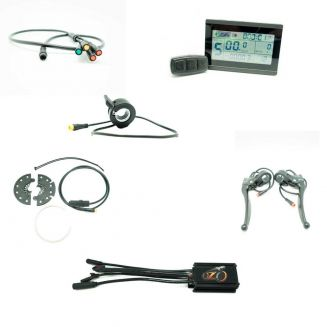 250W 36V 15A controller with display for ebike