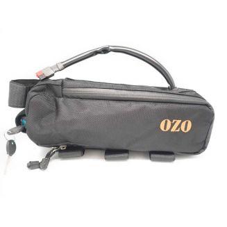 Rectangular frame bag for maximum 14Ah battery