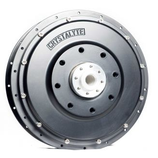 Motorcycle 10KW motor rear wheel