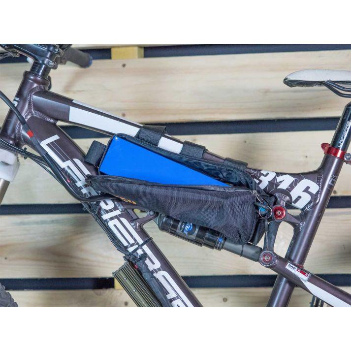 Sacoche de cadre rectangulaire pour batterie