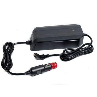 Chargeur de voyage voiture 12V allume cigare pour batterie Lithium 36V 2A