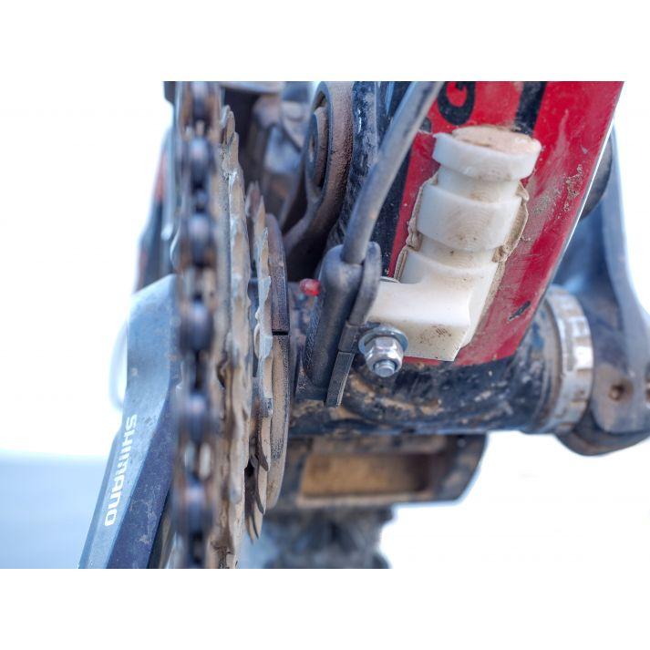 Support capteur pédalier sous boitier