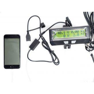 chargeur USB 1.5 A prise jack