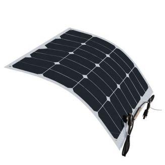Panneau solaire 12V 50W souple Sunpower Back contact
