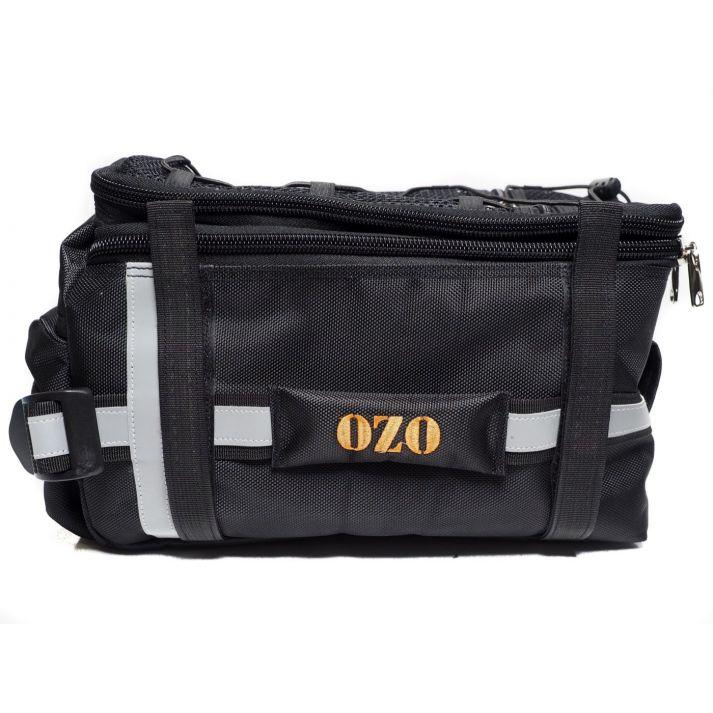 Rear rack battery bag