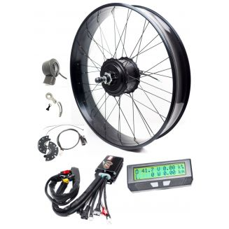 FAT BIKE Kit 900W 1200W 25A cycle analyst