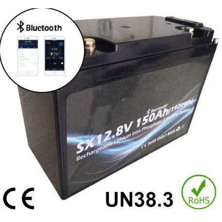 12V 150Ah 1900Wh Battery Lithium iron phosphate