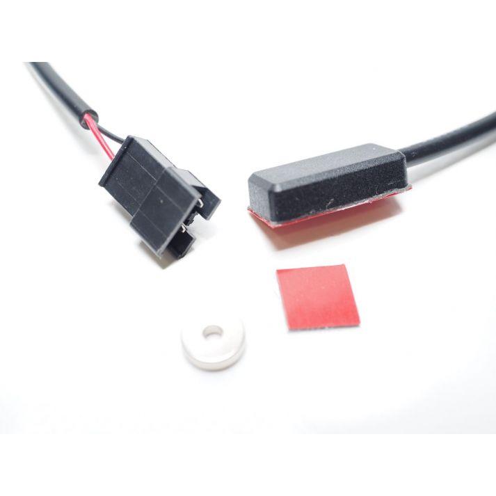 Contacte magnétique pour frein hydraulique