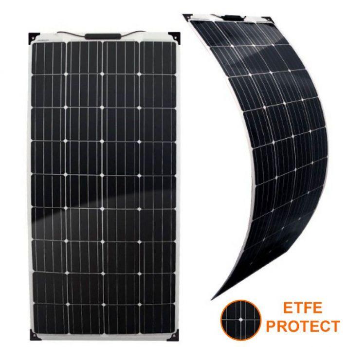 Flexible Solar panel 12V 100W ETFE