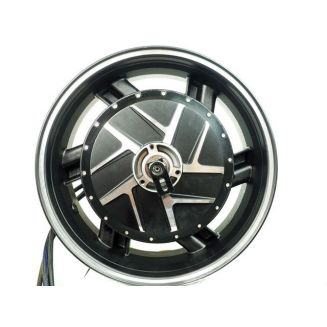 Motorcycle 15KW motor rear wheel