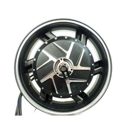 Motorcycle 10KW motor rear wheel