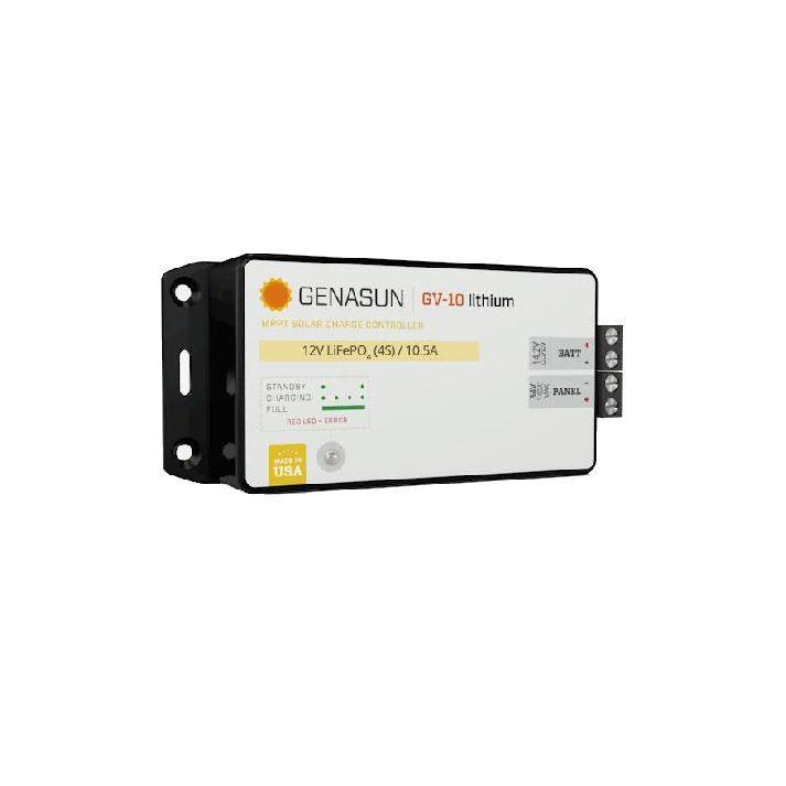 12V 10A MPPT Solar Charger Genasun Lead-acid / Iron phosphate Lithium