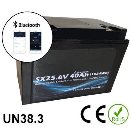 24V 40Ah 2400Wh Battery Lithium iron phosphate
