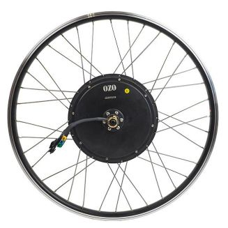 Front DD35 wheelbuilding on double wall rim with 2.3 mm stainless steel spokes