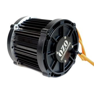 Moteur Moto 5000W électrique central Brushless BLDC