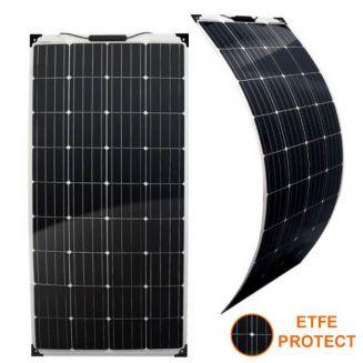 Panneau solaire 12V 160W souple ETFE