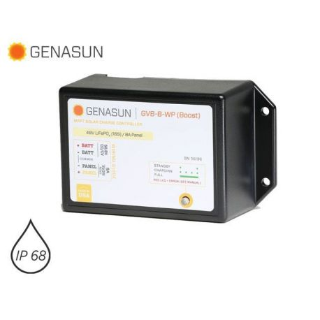 Genasun BOOST MPPT solar charger for 24V 36V 48V lead batteries