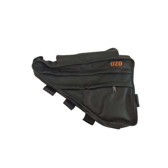 Leather triangle bag (skai) frame for battery