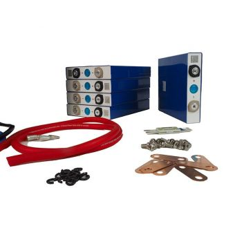 Battery Kit 36V 50Ah 1800Wh DIY Lithium iron LiFePO4 LFP