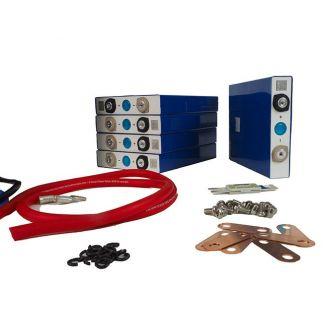 Kit Batterie 12V 100Ah 1200Wh Lithium Fer à assembler DIY LiFePO4 LFP