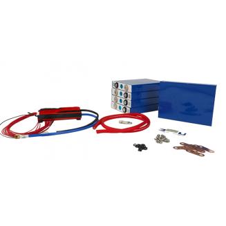 Battery Kit 36V 200Ah 7200Wh DIY Lithium iron LiFePO4 LFP
