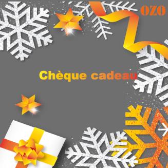 Chèques cadeaux 50€, 100€, 150€, 200€