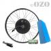 Kit Cargo 1000W roue arrière 20 à 29 pouces avec batterie PVC 36V