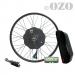 Kit Speed 1500W roue avant 20 à 29 pouces avec batterie cadre 48V