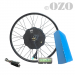 Speed 1500W 20 to 29 inch front wheel kit with 48V PVC battery