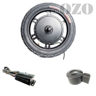 16 inch electric motor 1000W - 1500W scooter kit or drift trike without battery