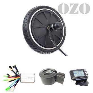 Kit scooter motor electric wheel 8 inches 200 mm 250W without battery