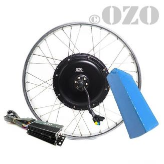 Solex electric rear wheel motor kit 19 inches 1500W with PVC battery 48V
