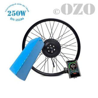 Kit Bobber 250W roue arrière 20 ou 24 pouces avec batterie PVC 36V