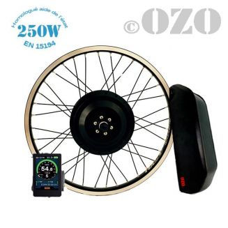 Tandem Kit 250W rear wheel 26 to 29 inch with 36V casing battery